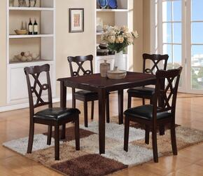 Cosmos Furniture COPPERDININGSET