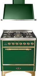 2-Piece Emerald Green Kitchen Package with UMC76DMPVS 30