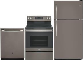 3-Piece Slate Kitchen Package with GTS21FMKES 32
