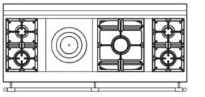 165 US L1 Cooktop Configuration w...