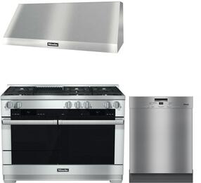 3-Piece Stainless Steel Kitchen Package with HR1955DFGR 48