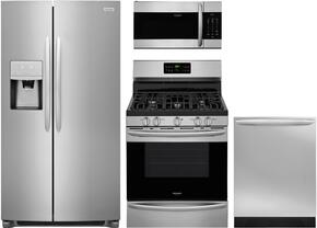 4-Piece Stainless Steel Kitchen Package With FGSC2335TF 30