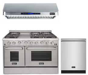 3-Piece Kitchen Package with KRG4804U 48