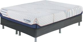 10 Inch MyGel Collection M75711-M86X12 Set of Mattress and Riser Foundation in Twin Size