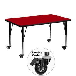 Flash Furniture XUA3048RECREDTPCASGG
