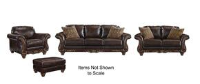 Vanceton 67402-38-35-20-14 4-Piece Living Room Set with Sofa, Loveseat, Armchair and Ottoman in Antique Color