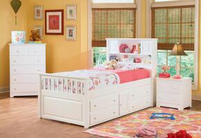 Atlantic Furniture CAP4WHTW