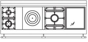 180 US N3 Cooktop Configuration w...
