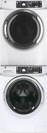 White Front Load Laundry Pair with GFW480SSKWW 28
