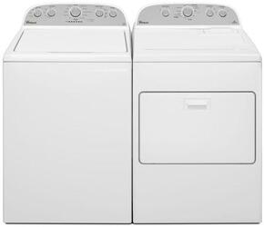 White Top Load Laundry Pair with WTW4915EW 28