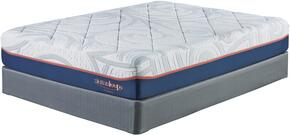 12 Inch MyGel Collection M75841-M81X42 Set of Mattress and 2-Piece Foundation in King Size