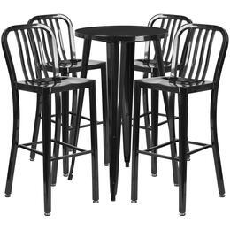 Flash Furniture CH51080BH430VRTBKGG