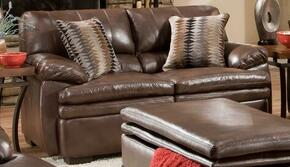Simmons Upholstery 954502EDITORBROWN