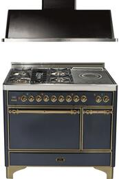 2-Piece Matte Graphite Kitchen Package with UMC120SDMPMY 48