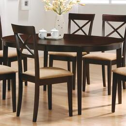 100770SET72 Mix & Match 5 PC Dining Set (Table, 4 Chairs) by Coaster Co.