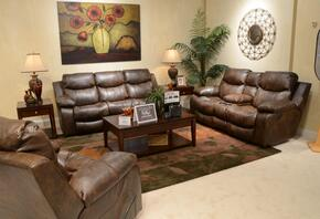 Catalina Collection 4311-1223-19/3023-19SET 3 PC Living Room Set with Reclining Sofa + Loveseat + Recliner in Timber Color