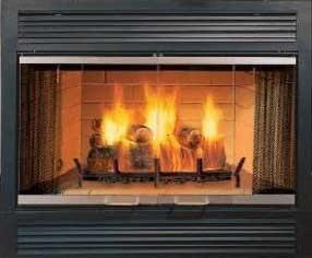 Majestic Sovereign Series Sa42r 42 Inch Radiant Wood Burning