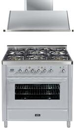 2-Piece Stainless Steel Kitchen Package with UMT906DVGGI 36