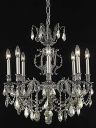 Elegant Lighting 9508D24PWGTSS