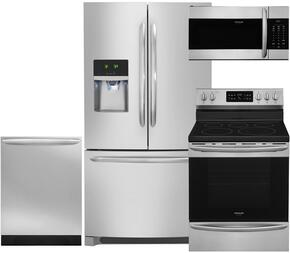 4-Piece Stainless Steel Kitchen Package with DGHF2360PF 36