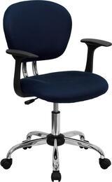Flash Furniture H2376FNAVYARMSGG