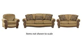 Lynnwood Collection 68500SLC 3-Piece Living Room Set with Sofa, Loveseat and Living Room Chair in Amber