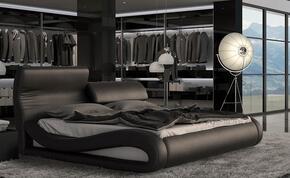 VIG Furniture VGINCALEDONIABLKQ