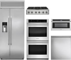 5-Piece Stainless Steel Kitchen Package with ZISP420DKSS 42