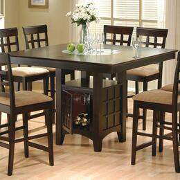 100438SET09 Mix and Match 5 Piece Counter Height Dining Set (Table and 4 Chairs)