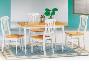 4147SET22 Damen Collection 5 Pcs Dining Room Set (Table and 4 Side Chairs)