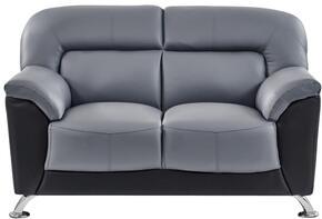 Global Furniture USA U9102DGRMX09BLLOVESEAT