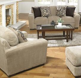 Prescott Collection 44872PCARMKIT1P 2-Piece Living Room Sets with Stationary Sofa, and Living Room Chair in Putty