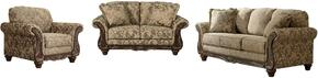 Irwindale 88404SLC 3-Piece Living Room Set with Sofa, Loveseat and Armchair in Topaz Color