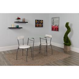 Flash Furniture XMJMA027812WHGG