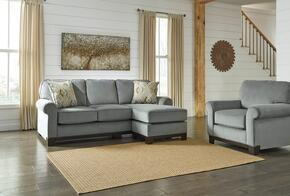 Eliezer Collection MI-6045SCC-MARI 2-Piece Living Room Set with Sofa Chaise and Chair in Marine Color