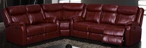 Global Furniture USA U9303BUR3PCSEC