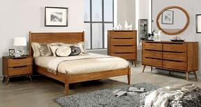 Furniture of America CM7386AEKBEDSET