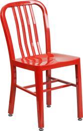 Flash Furniture CH6120018REDGG