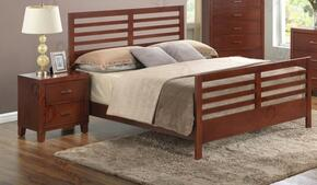G1200CTB2N 2 Piece Set including Twin Bed, and Nighstand in Cherry