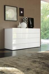 VIG Furniture VGSMGLASTDRWHI