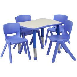 Flash Furniture YUYCY0980034RECTTBLBLUEGG