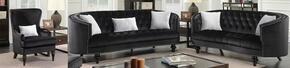 Furniture of America CM6145BKSFLVCH