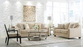 Mauricio 81601-38-35-60 3-Piece Living Room Set with Sofa, Loveseat and Accent Chair in Linen Color