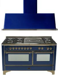2-Piece Midnight Blue Kitchen Package with UM150SDMPBLY 60