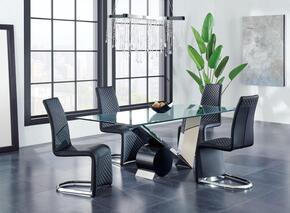Global Furniture USA D987DT4D6671DCBL