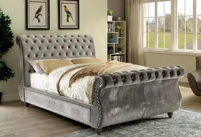 Furniture of America CM7128GYEKBED