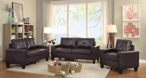 Newbury Collection G464ASET 3 PC Living Room Set with Sofa + Loveseat + Armchair in Sauvage Brown Color