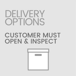 Delivery Options OPENANDINSPECT