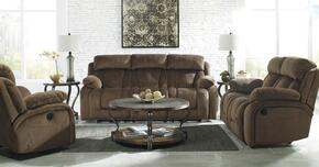 Landen Collection MI-3941873PC-CHOC 3 PC Living Room Set with Reclining Power Sofa + Reclining Power Loveseat + Power Rocker Recliner in Chocolate Color