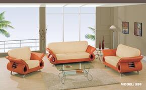 Global Furniture USA 559SLCH